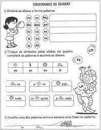 Atelie Doce Magia em Ensinar: ATIVIDADES DE LINGUA PORTUGUESA- 2 ANO - ENSINO FUNDAMENTAL (03)