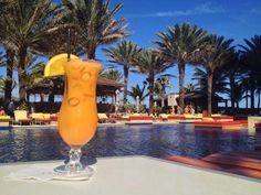 Poolside drinks at the Cain at the Cove!
