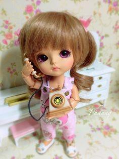 Kawaii Doll, Cute Girl Wallpaper, Pretty Dolls, Blythe Dolls, Bjd, Cute Girls, Disney Characters, Fictional Characters, Disney Princess
