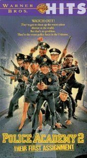 Police academy 2: au boulot! (1985)   Police Academy 2: Their First Assignment (original title)