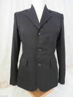 RALPH LAUREN BLACK LABEL Size 6 Blazer Jacket NWT Silk Lined  Retail 700/279