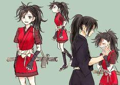 Hyakkimaru and Dororo Manga Anime, Me Anime, Kawaii Anime, Anime Art, Anime Love Couple, Cute Anime Couples, Happy Tree Friends, Accel World, Card Captor