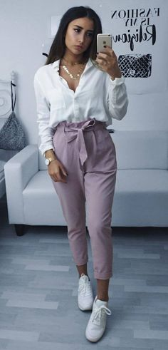 casual style obsession blouse + pants