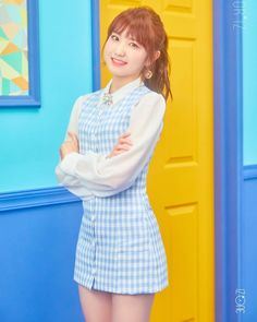 HONDA - another Japanese member of IZ*ONE. This is one model the Honda Car Company wouldn't be able to manufacture! If they could it would be a big seller I'm sure. Yuri, Kpop Girl Groups, Kpop Girls, Honda, Eyes On Me, Japanese Girl Group, Fandom, First Photo, One Color