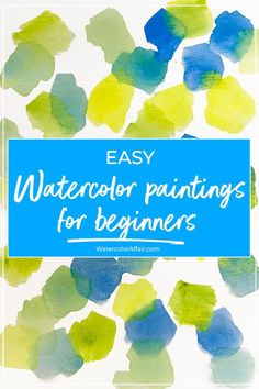 watercolor art Some easy and simple watercolor paintings for beginners with step by step explanations Watercolor Beginner, Watercolor Paintings For Beginners, Watercolor Art Lessons, Watercolor Tips, Watercolor Projects, Watercolour Tutorials, Watercolor Techniques, Watercolor Cards, Watercolor Landscape