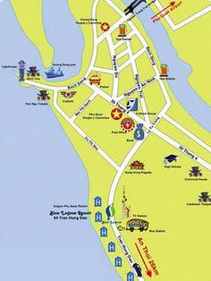 Mapa de Phu Quoc (Vietnam)  http://www.vietnamitasenmadrid.com/2011/11/mapa-de-phu-quoc.html