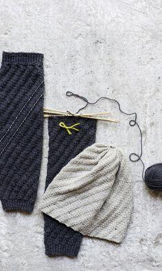 Neulotut säärystimet ja pipo | Meillä kotona Crochet Socks, Leg Warmers, Winter Hats, Beanie, Knitting, Handmade, Crafts, Accessories, Crocheting
