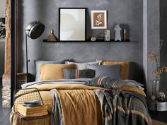 Bedroom Colour Schemes Warm, Bedroom Colors, Teen Boys Room Decor, Bedroom Design Inspiration, Aesthetic Room Decor, Dream Bedroom, Interior, Home Decor, San Diego
