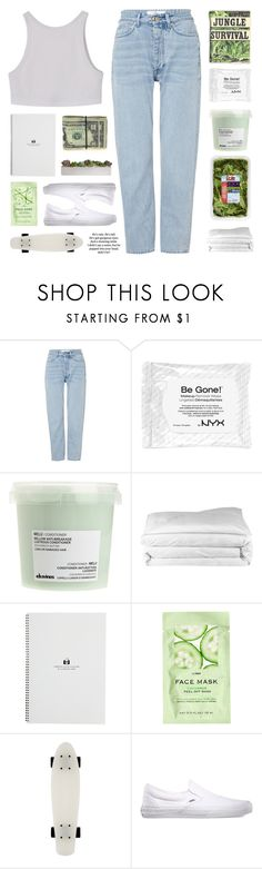 """""""CAN YOU FEEL ME THERE ☆"""" by darkdiamonds-1 ❤ liked on Polyvore featuring Won Hundred, Davines, Frette, H&M and Vans"""
