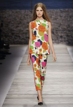 Blugirl Spring Summer 2014 Fashion Show Collection #mfw