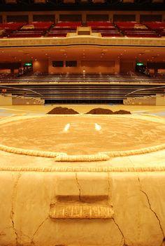 Sacred Sumo, Tokyo Stadium Copyright: Charlotte Newman