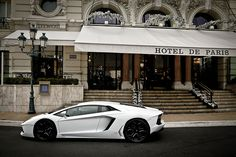 Aventador in Paris
