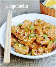 Kuracie kúsky v pomarančovej omáčke – Orange chicken