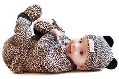 Funky Baby Clothes - Cheetah 4 Piece Set