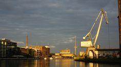 Hafen in Münster, Nordrhein Westfalen, Germany