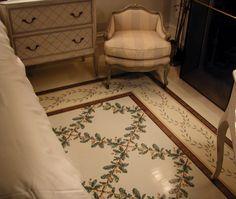 Mark Uriu Inc. Stenciled Floor