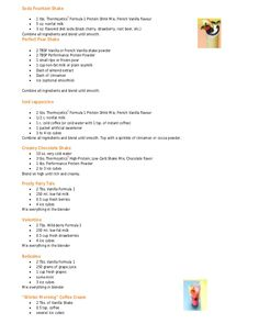 Herbalife shake recipe book