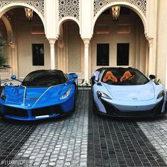 Laferrari and 675LT.  Like and comment which one would you pick!  ➡️ @adillaresh for more!