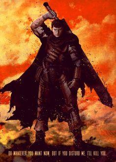 berserker guts manga anime sword fighter Characters