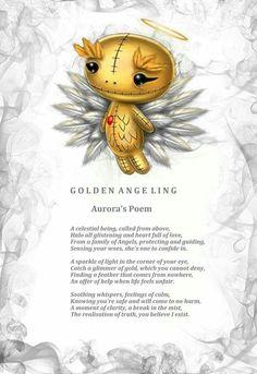 Frightlings: Golden Angeling Aurora's Poem.