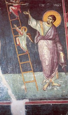The frescoes of the cathedral Protata in Kars, Athos. Part II Religious Images, Religious Icons, Religious Art, Byzantine Icons, Byzantine Art, Orthodox Christianity, Art Icon, Angels And Demons, Orthodox Icons