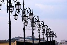 street-lamp in Moscow