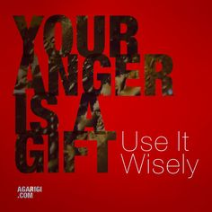 """Your anger is a gift"". Mengutip lirik yang dilantunkan Zack De La Rocha (RATM). – View on Path."