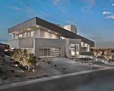 Desert Landscaping, Landscaping A Driveway, Contemporary Exterior, Desert Modern,  & Desert Landscapes - Contemporary Exterior By Simply Modern