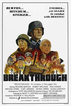 Breakthrough (1979) Stars: Richard Burton, Rod Steiger, Helmut Griem, Klaus Löwitsch, Michael Parks ~ Director: Andrew V. McLaglen
