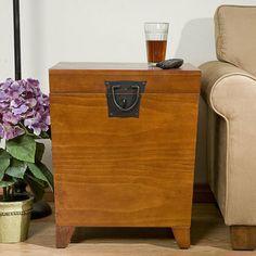 Harper Blvd Parsons Black End Table Trunk By Harper Blvd | Furniture Outlet  And Online Furniture