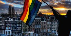 gay-friendly Amsterdam, NL, one great city with amazing people; 2000 & 2001