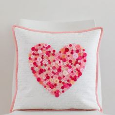 ~ tutorial ~ Button heart by She Quilts a Lot