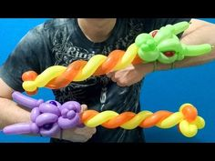 On my channel you will find many unique balloon tutorials including deluxe balloon columns, fantastic balloon animals, the BEST balloon bracelets, awesome ba. Balloon Sword, Balloon Hat, Balloon Crafts, Balloon Decorations, Balloon Ideas, Balloon Toys, Balloon Designs, Balloon Bouquet, Baby Dragonfly