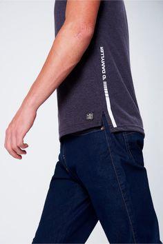 Herren T-Shirt - Damyller Polo Shirt Outfits, Mens Polo T Shirts, Mens Tees, Polo Shirt Style, Men's Activewear, Cool Shirts, Casual Shirts, Herren T Shirt, Shirt Designs
