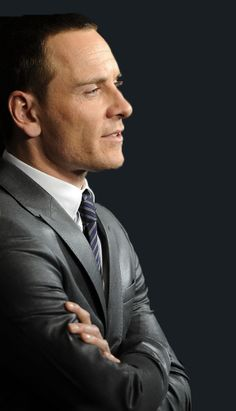 Michael Fassbender's profile! And a mighty fine one it is too!