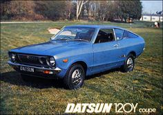Datsun 120Y Coup Classic Japanese Cars, Classic Cars, Datsun Car, Nissan Infiniti, Car Advertising, Commercial Vehicle, Old Cars, Vintage Cars, Super Cars