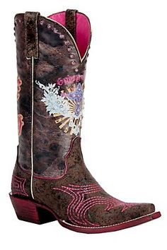 Ariat Gypsy Soule Ladies Wild Brown Pink