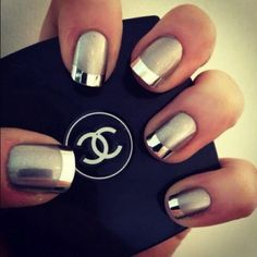 fall gel nail colors 2013 | Nail Colors: Gold Fall Nail Designs, nail gel polish, nails color ...