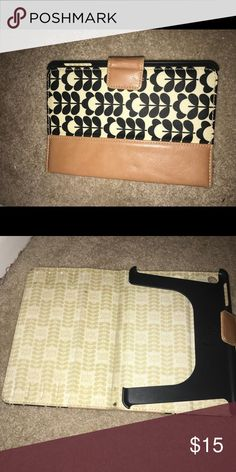 Orla Kiely IPad Mini 2 Case Orla Kiely IPad Mini 2 Case. In good condition. Has 1 little tiny mark on it which is pictured. Thank you for looking and please contact me if you have any questions ! Orla Kiely Accessories Tablet Cases
