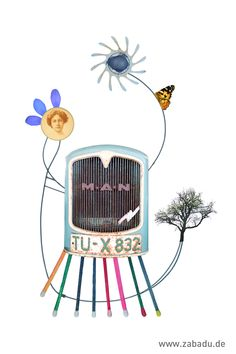 Titel: TÜ-X-832, April 2020 Der Handel, Grafik Design, Collage, Prints, Photo Art, Collages, Printed, Collage Illustration, Art Print