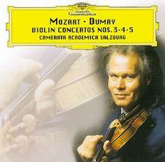 MOZART Violinkonzerte Nos. 3,4,5 - Dumay - Deutsche Grammophon