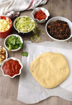 Pizza Dough with Semolina by Cook's Hideout Semolina Pizza Dough, Semolina Recipe, Regular Pizza, Palak Paneer, Baking, Ethnic Recipes, Food, Bakken, Essen