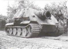 Armor - Wehrmacht - Alkett WW II Siege Mortar (Sturmmörserwagen606-4 mit) Armament (One 380mm RW 61 Rocket Launcher, One 100mm SMi 35 Grenade Launcher & One 7.62mm MG 34 MG - 19 Built (1)