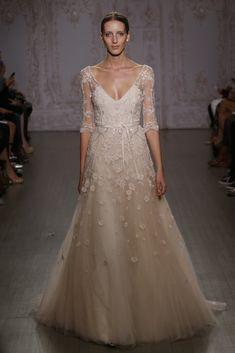 Monique Lhuillier Bridal Fall 2015 - Slideshow - Runway, Fashion Week, Fashion Shows, Reviews and Fashion Images - WWD.com