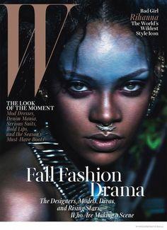 Rihanna For W Magazine // #Style #Icon
