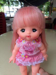 Mell Chan with Pink Hair Pink Hair, Children, Kids, Harajuku, Dolls, Cute, Style, Fashion, Rosa Hair