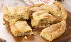 Find Delicious Baking & Breads recipes - Courgette Pie Ref - 2919 - Page 1 Greek Recipes, Vegan Recipes, Cooking Recipes, Cyprus Food, Dutch Oven Bread, Delicious Desserts, Yummy Food, Baking Basics, Savory Pastry