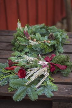 Diy Christmas Ornaments, Fall Wreaths, Autumn, Winter, Plants, Inspiration, Art, Gardens, Christmas Ornaments