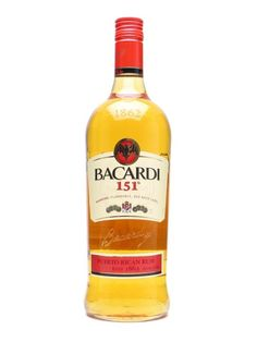 Contains the craft and credentials of a great Bacardi rum, but at 75.5% alcohol, this is not for the faint-hearted: approach with caution!  Please note this is a high-strength product and we recomm...