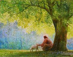 Under the juniper tree.... by Yongsung Kim